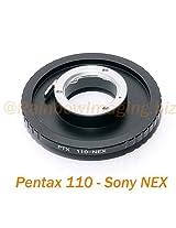 Fotasy Pentax Auto 110 Lens to Sony NEX E-Mount Camera Adapter
