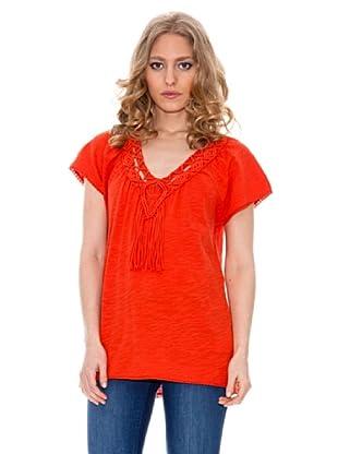 Springfield Camiseta Macrame (Rojo)