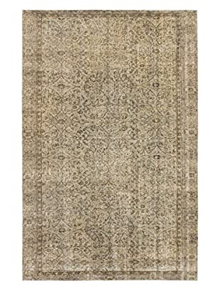 eCarpet Gallery One-of-a-Kind Hand-Knotted Color Transition Rug, Grey, 5' 5
