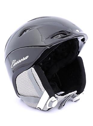 Carrera Casco de Esquí CA E00410 MYSTIC BLACK SHINY (negro)