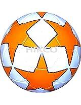 Hikco PVC Star Football Orange