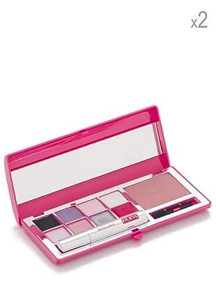 Pupa Set 2 Estuches Maquillaje Rosa