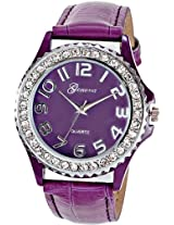 Geneva Ladies Purple Gift Watch (GL-10-PURPLE)