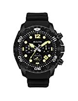 Bulova Chronograph Black Dial Men's Watch - 98B243