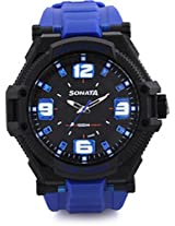 Sonata Ocean Series III Analog Multi-Color Dial Unisex Watch - 77029PP03J