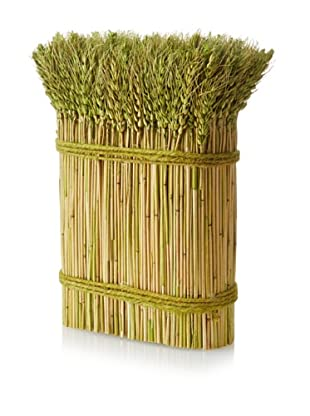 Barley Stack Décor, Green/Yellow