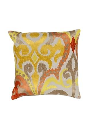 Surya Printed Throw Pillow, Mimosa