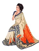 Gugaliya Embellished Fashion WoMEN Art silksaree (S15175 )