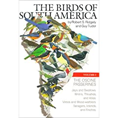 The Birds of South America: The Oscine Passerines