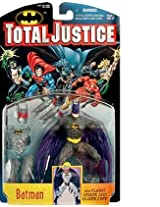 TOTAL JUSTICE LEAGUE BATMAN:BATMAN ACTION FIGURE