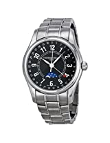 Frederique Constant Black Dial Stainless Steel Men'S Watch - Fc-330B6B6B