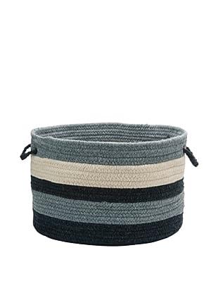 Colonial Mills Elliott Stripe Basket, (Navy/Denim/Natural)