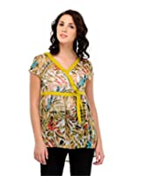 Yepme Women's Yellow Polyester Tops YPMTOPS0444_L