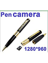 Star Tech Spy Pen HD Video Camera with 16 GB in-built Memory Card for DVR Audio Video Camcorder