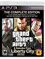 Grand Theft Auto IV Complete Edition - PS3 (Pre-owned)