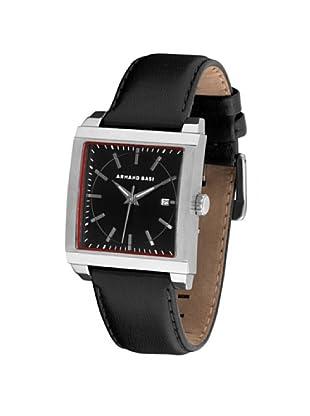 ARMAND BASI A0621G02 - Reloj de Caballero movimiento de cuarzo con correa de piel Negra