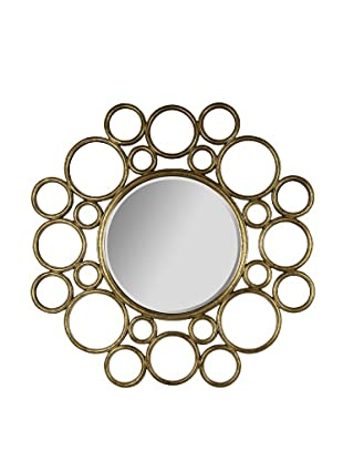 Cooper Classics Celeste Mirror, Antique Gold