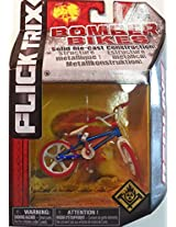 Flick Trix Die-cast Bomber Bikes - Redline (Red, White, Blue)