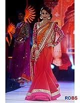 Malaika Arora Khan Red Saree At Walked The Ramp Iifa Collection