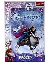 Trefl, Disney Frozen, Rescue For Anna 100 Pieces Jigsaw Puzzle