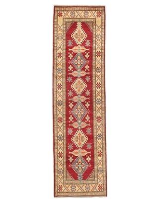 Rug Republic One Of A Kind Pakistani Kazak Rug, Red/Blue/Antique Ivory/Multi, 2' 1 x 10' 4