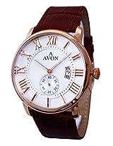A Avon White Dial Analogue Watch for Men (1001993)