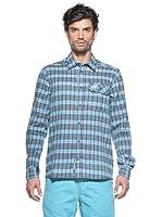 Salewa Camisa Pelusios Co M (Azul)