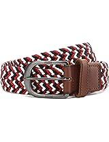 Puma Red Polyester Men's Belt