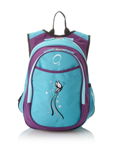 O3 Kid's All-in-One Backpack with Integrated Cooler (Butterfly)