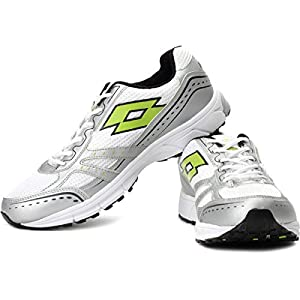 Lotto Zenith Running Shoes - White, Silver and Green