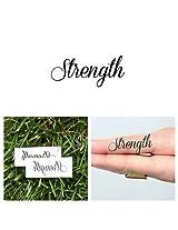 Temporary Tattoo Word (set of 2) - Strength