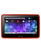"Visual Land Prestige 7G - 7"" Single Core 8GB Android tablet with Google Play (Red Orange)"