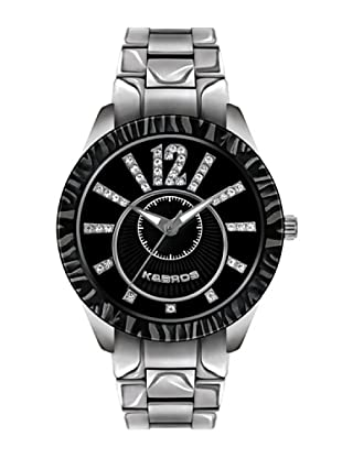 K&BROS 9149-1 / Reloj de Señora  con brazalete metálico negro