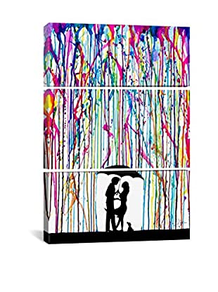 Marc Allante Two Step Gallery Wrapped Triptych Canvas Print