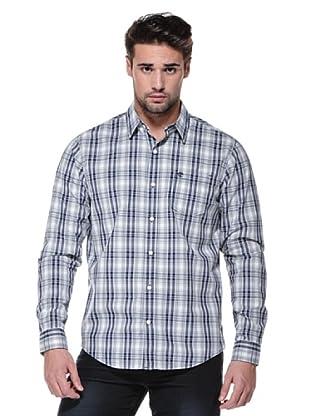 Timberland Camisa Claremont (Blanco/Azul)