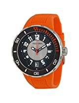 Philip Stein Extreme Orange Rubber Strap Men's Watch