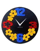 Zeeshaan Flower Numbers (Black Dial) [Watch]