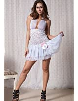 Princess Babydoll Dress With Matching G-String.