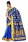 Varkala Silk Sarees Silk Saree With Blouse Piece (Ss3110Rb -Royal Blue)