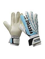 Vector X Defender Goalkeeping Gloves Size-10 (White, Blue) (10)