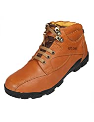 Red Chief Men's Elephant Tan Leather Casual Shoes - B00MANQTRS