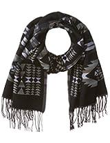 RAMPAGE Women's Aztec Blanket Wrap Scarf