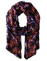 RAMPAGE Women's Floral Lt Weight Oblong Scarves