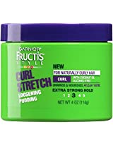 Garnier Hair Care Fructis Curl Stretch Loosening Pudding, 4 Ounce