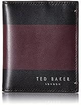 Ted Baker Men's Stripe Small Bifold Wallet