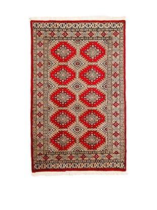 RugSense Alfombra Kashmir Rojo/Multicolor 155 x 93 cm