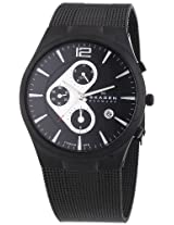 Skagen Men's 906XLTBB Titanium Titanium Chronograph Watch