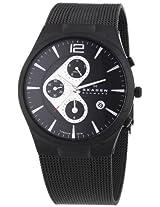 Skagen Men's 906XLTBB Titanium Titanium Chronograph Watch