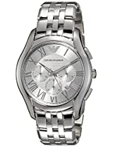 Emporio Armani Analog Silver Dial Men's Watch - AR1702