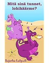 Mitä sinä tunnet, lohikäärme? - Söpö lohikäärmekuvakirja lapsille tunteista